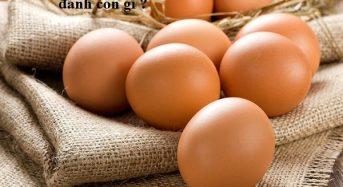 Nằm mơ thấy trứng vịt, trứng gà đánh con gì ?